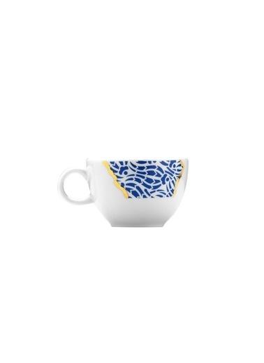 Kütahya Porselen Kütahya Porselen Zeugma Kintsugi Kahve Takımı Renkli